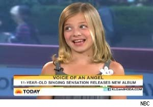 Jackie Evancho talks abou Barbra Streisand and songwriting on 'Today'
