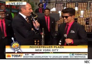 Bruno Mars on 'Today'