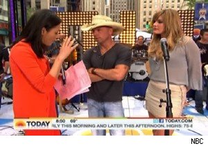 Ann Curry, Kenny Chesney, and Grace Potter on 'Today'