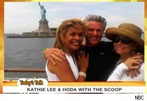 Hoda Kotb, Donny Deutsch, and Kathie Lee Gifford on 'Today'