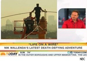 Nik Wallenda of 'Life On the Wire' on NBC