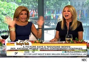 Hoda Kotb and Kathie Lee Gifrord on 'Today'
