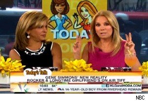 Hoda Kotb and Kathie Lee Gifford talk about Gene Simmons and Shannon Tweed on 'Today'