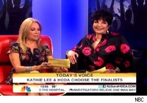 Kathie Lee Gifford and Liza Minnelli on 'Today'