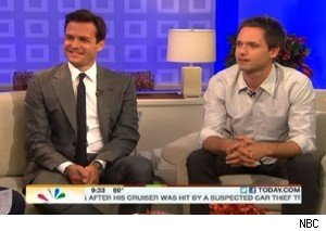 Gabriel Macht and Patrick J. Adams talk about 'Suits' on 'Today'