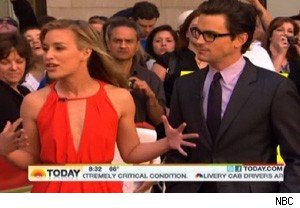Piper Perabo and Matt Bomer on 'Today'