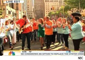 Meredith Vieira's farewell flash mob on 'Today'
