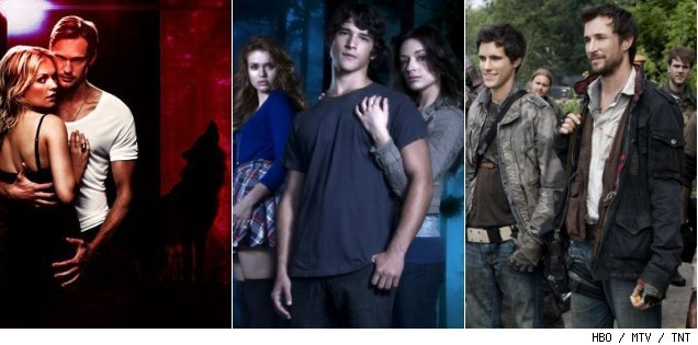 'True Blood' / 'Teen Wolf' / 'Falling Skies'