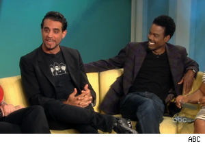 Bobby Cannavale and Chris Rock on 'The View'