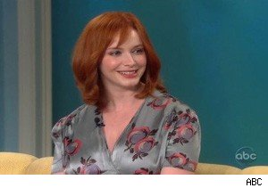 Christina Hendricks on 'The View'