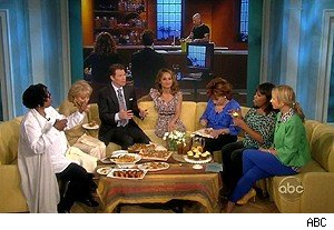 Bobby Flay and Giada De Laurentiis on 'The View'