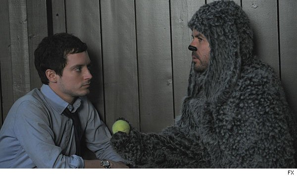 Elijah Wood & Jason Gann in 'Wilfred'