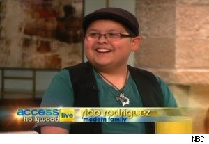 Rico Rodriguez of 'Modern Family' on 'Access Hollywood Live'