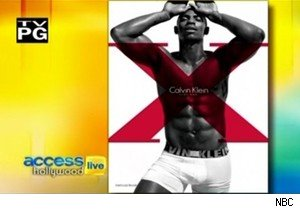 Mehcad Brooks and his abs on 'Access Hollywood Live'