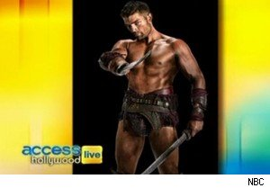 Liam McIntyre of 'Spartacus' on 'Access Hollywood Live'