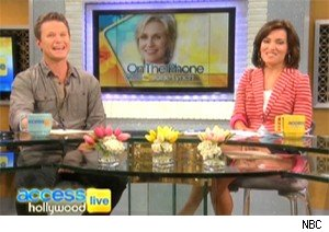 Jane Lynch talks 'Glee' and the Emmys on 'Access Hollywood Live'
