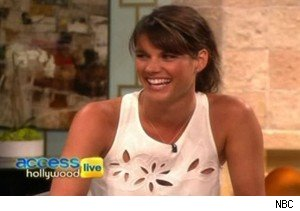 Missy Peregrym of 'Rookie Blue' on 'Access Hollywood Live'
