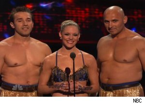 Sandou Russian Bar Trio, 'America's Got Talent'