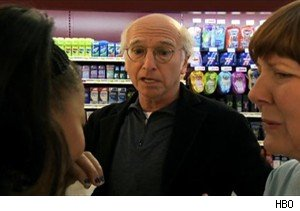 Larry David tries to get some Chubby Hubby on 'Curb Your Enthusiasm'