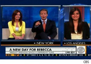 Rebecca Black talks 'Friday,' 'My Moment,' and Katy Perry on 'The Early Show'