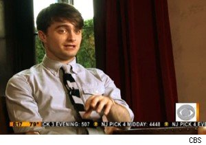 Daniel Radcliffe talks about 'Harry Potter and the Deathly Hallows - Part 2' on 'The Early Show'