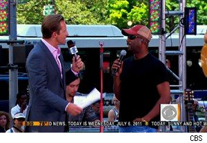 Darius Rucker on 'The Early Show'