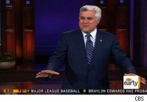 Jay Leno on the debt ceiling on 'The Early Show'