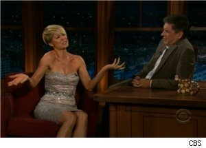 Jenna Elfman and Craig Ferguson