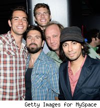 Members of the 'Chuck' cast