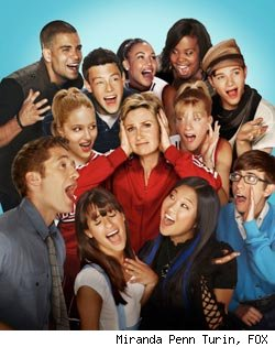 'Glee' cast