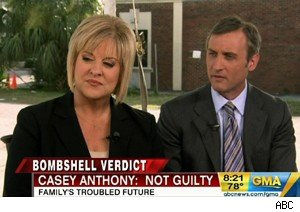 Nancy Grace and Dan Abrams discuss the Casey Anthony verdict on 'Good Morning America'