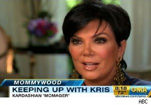 Kris Jenner talks about her 'momager' role with the Kardashians on 'Good Morning America'