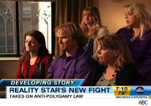 Kody Brown and his wives, of TLC's 'Sister Wives,' on 'Good Morning America'