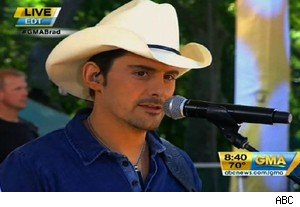 Brad Paisley performs 'Nobody's Fool' from the 'Cars 2' soundtrack on 'Good Morning America'