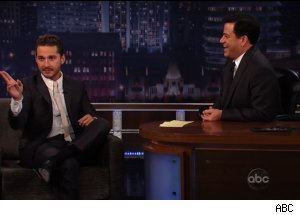 Shia LaBeouf, 'Jimmy Kimmel Live'
