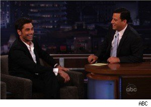John Stamos and Jimmy Kimmel