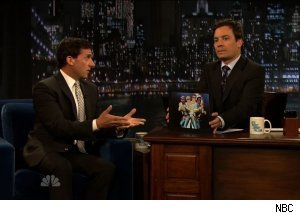 Steve Carell, 'Late Night with Jimmy Fallon'