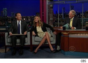 Julia Robets &amp; Tom Hanks, 'Late Show with David Letterman'