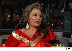 Roseanne Barr, 'Late Show with David Letterman'