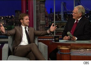 Ryan Gosling, 'Late Show with David Letterman'