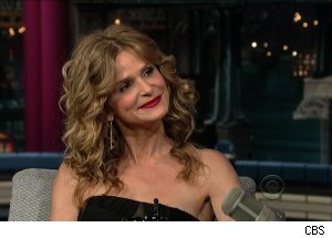Kyra Sedgwick, 'Late Show with David Letterman'