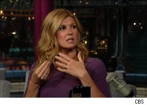 Connie Britton, 'Late Show with David Letterman'