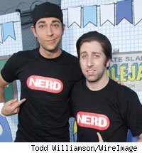 Zac Levi and Simon Helberg
