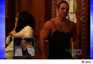 Joe Gorga of 'Real Housewives of New Jersey' in drag on 'Watch What Happens Live'