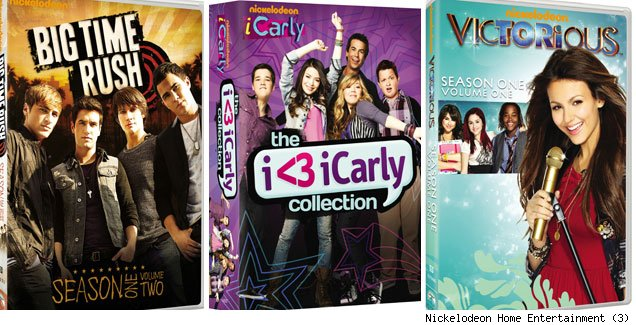 Nickelodeon Giveaway Alert! Win 'iCarly,' 'Victorious' 'Big Time Rush' on DVD