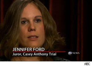 Jennifer Ford, Casey Anthony Trial Juror, 'Primetime Nightline'