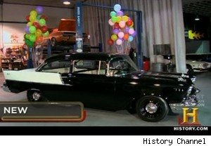 Old Man With a '57 Chevy for His 70th Birthday on 'Pawn Stars' (VIDEO