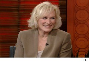 Glenn Close talks about 'Damages' on 'Live With Regis and Kelly'