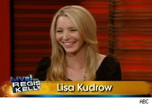 Lisa Kudrow on 'Live With Regis and Kelly'