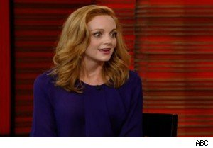 Jayma Mays of 'Glee' on 'Live With Regis and Kelly'